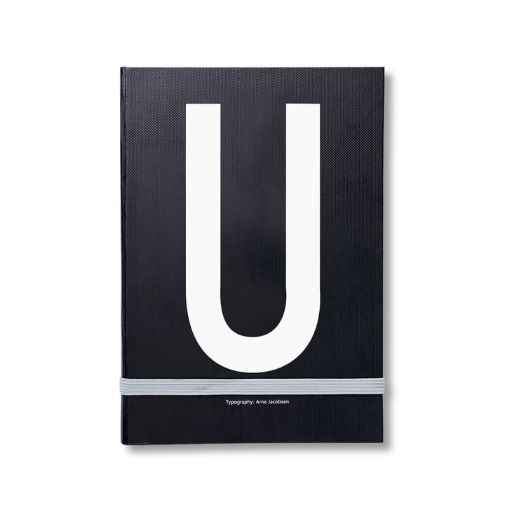 Design Letters - Personal Notebook A-Z, U