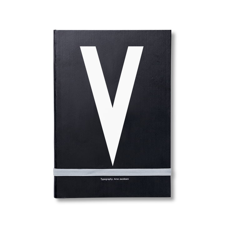 Design Letters - Personal Notebook A-Z, V