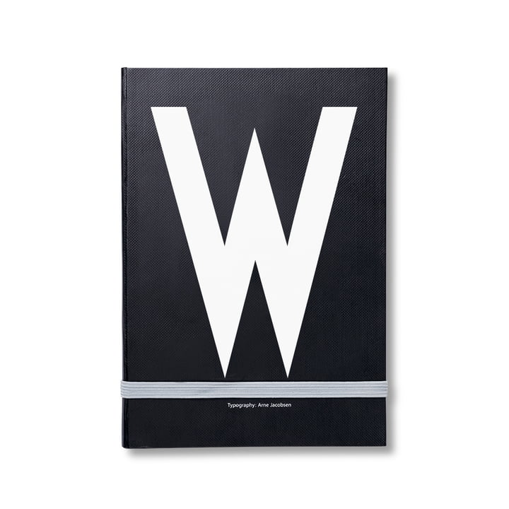 Design Letters - Personal Notebook A-Z, W
