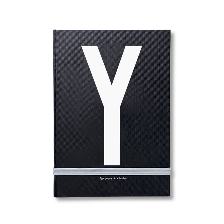 Design Letters - Personal Notebook A-Z, Y