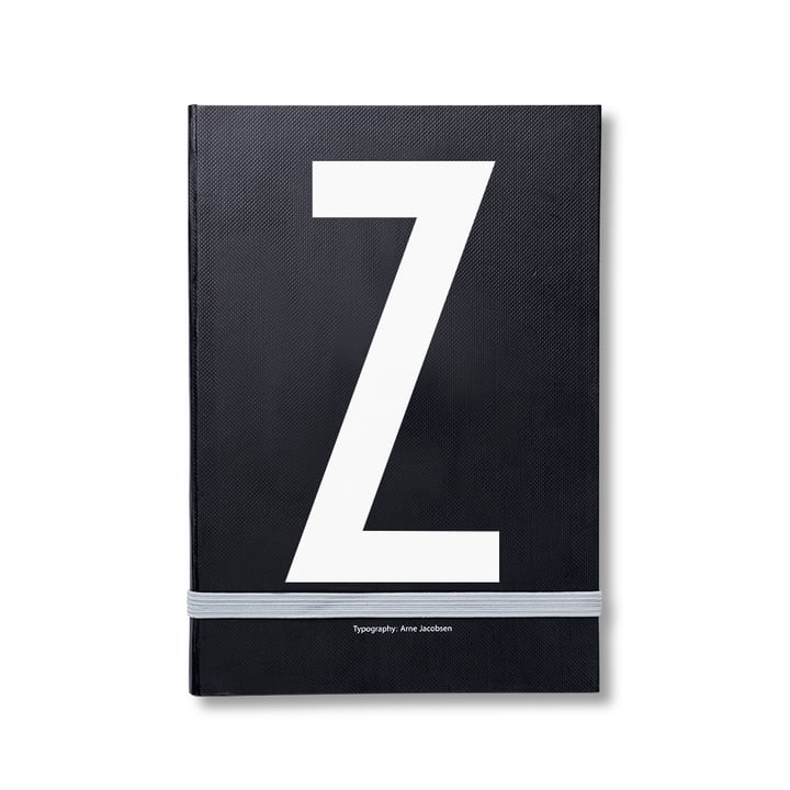 Design Letters - Personal Notebook A-Z, Z