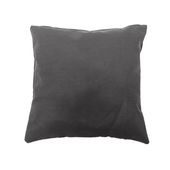 Shell Cushion Indoor by Sitting Bull in dark grey