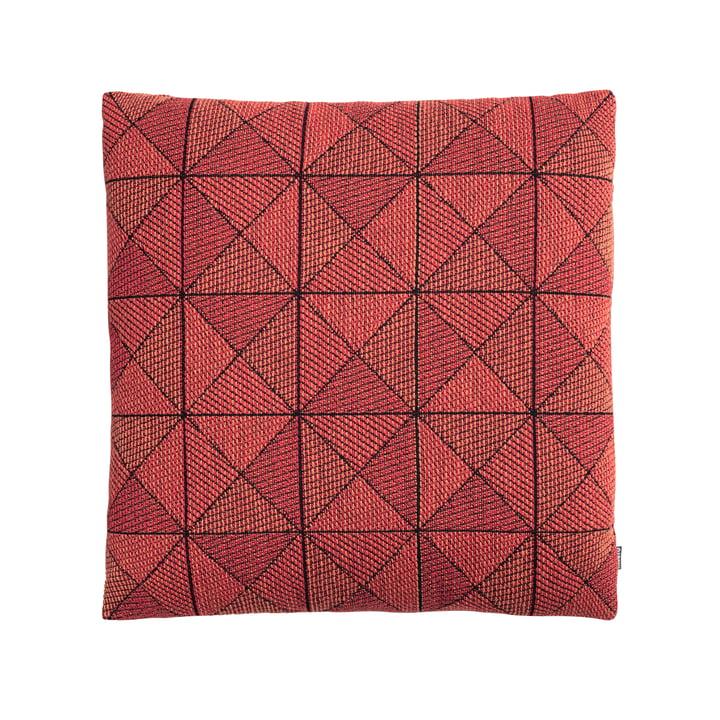 Geometric Tile Cushion by Muuto in orange red