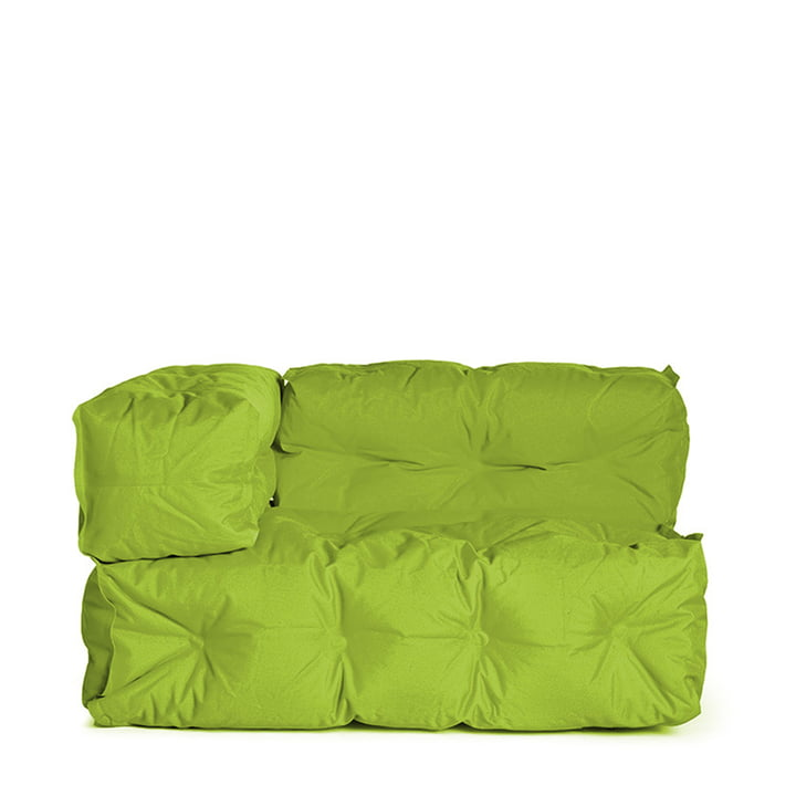 Sitting Bull - Couch II left, green