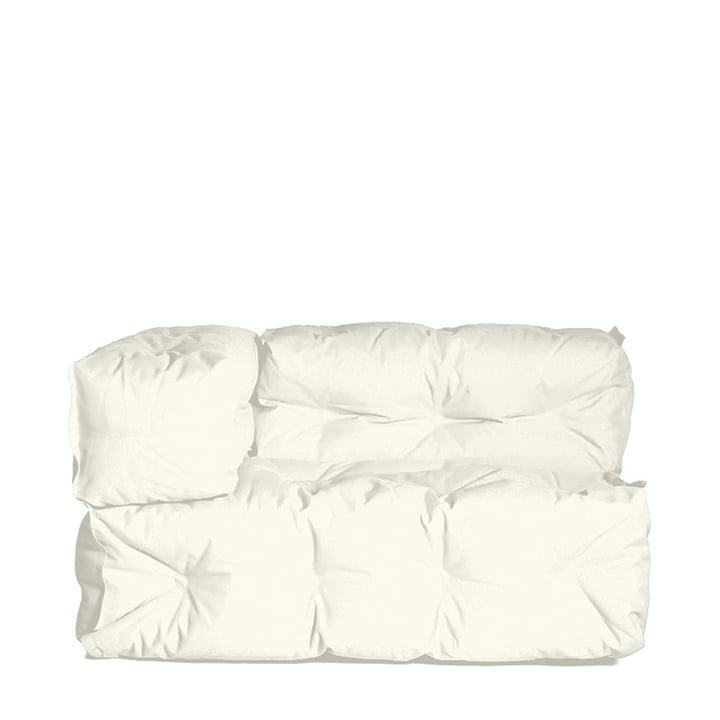 Sitting Bull - Couch II left, cream white