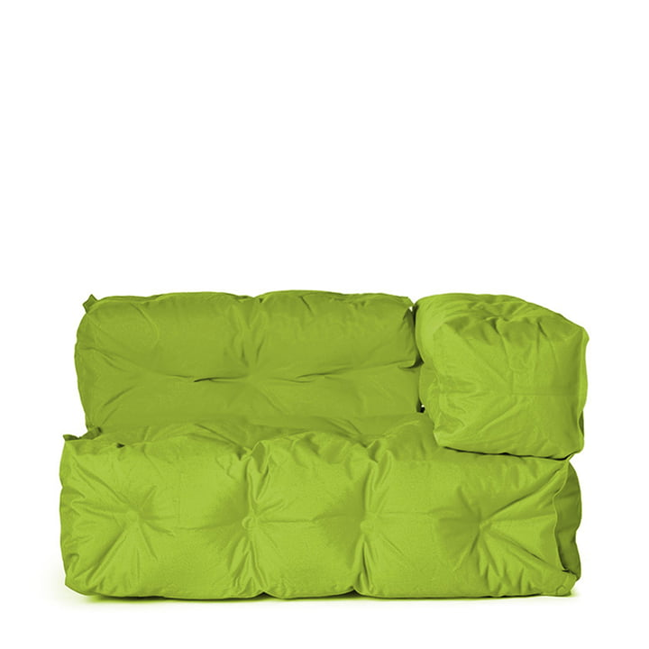 Sitting Bull - Couch II right, green