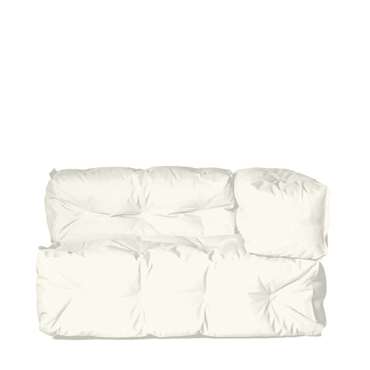 Sitting Bull - Couch II right, cream white