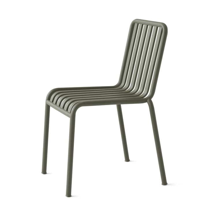 The Hay Palissade chair in olive