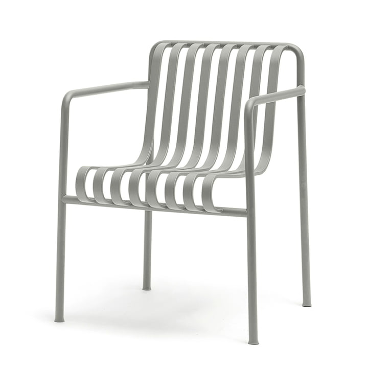 Palissade lounge armchair by Hay in light grey