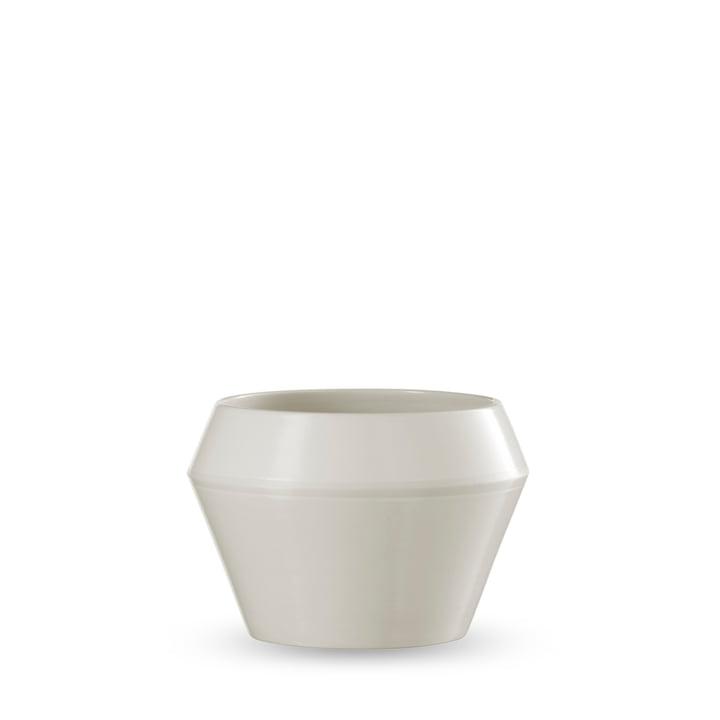 by Lassen - Rimm flower pot small, white