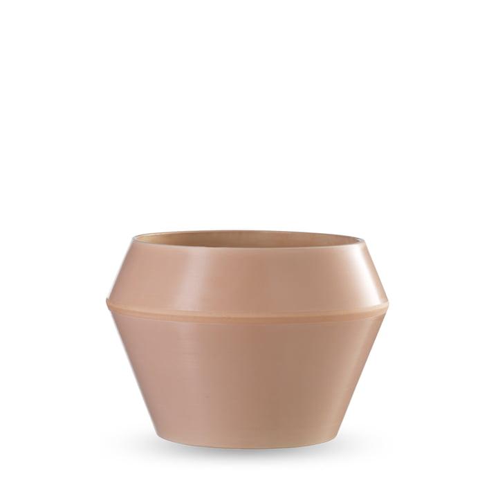 by Lassen - Rimm flower pot medium, camel