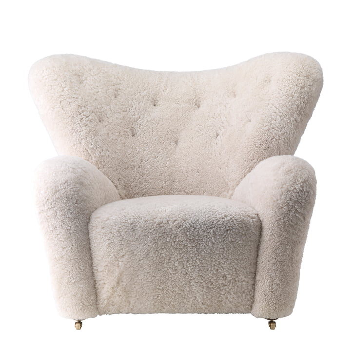 by Lassen - The Tired Man Armchair (sheepskin)