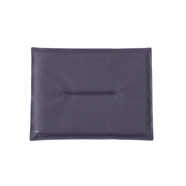 Seat cushion for bistro Folding chairs by Fermob in plum