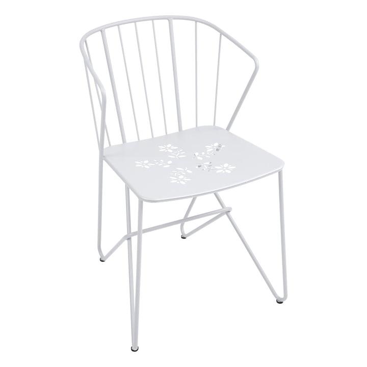 Fermob - Flower armchair, cotton white
