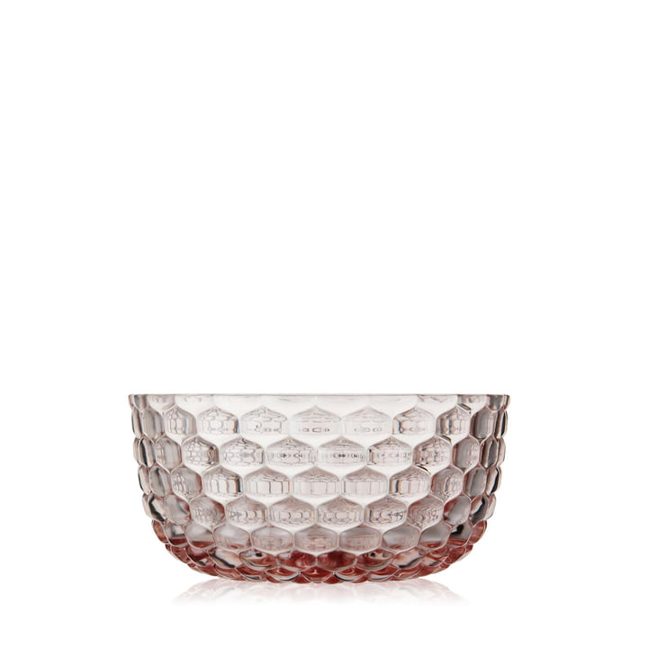 Jellies Family Dessert Bowls by Kartell in rose