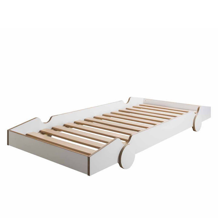 Speedoletto Bed by de Breuyn in white