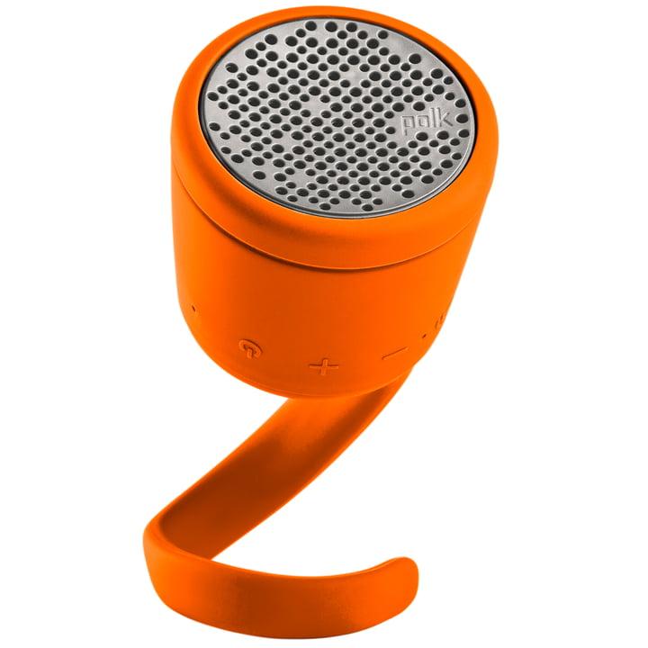 Swimmer Duo Bluetooth Speaker by Polk in orange