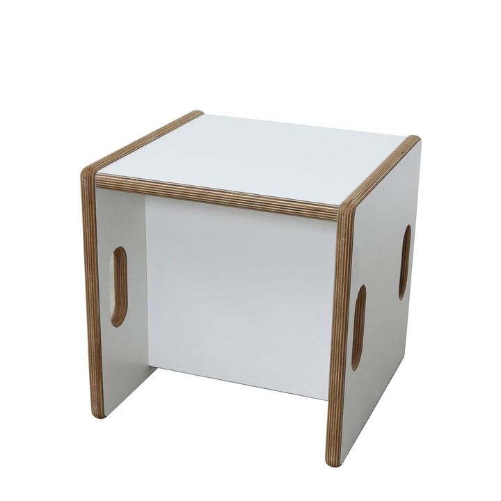 debe.detail Convertible Chair by de Breuyn in white