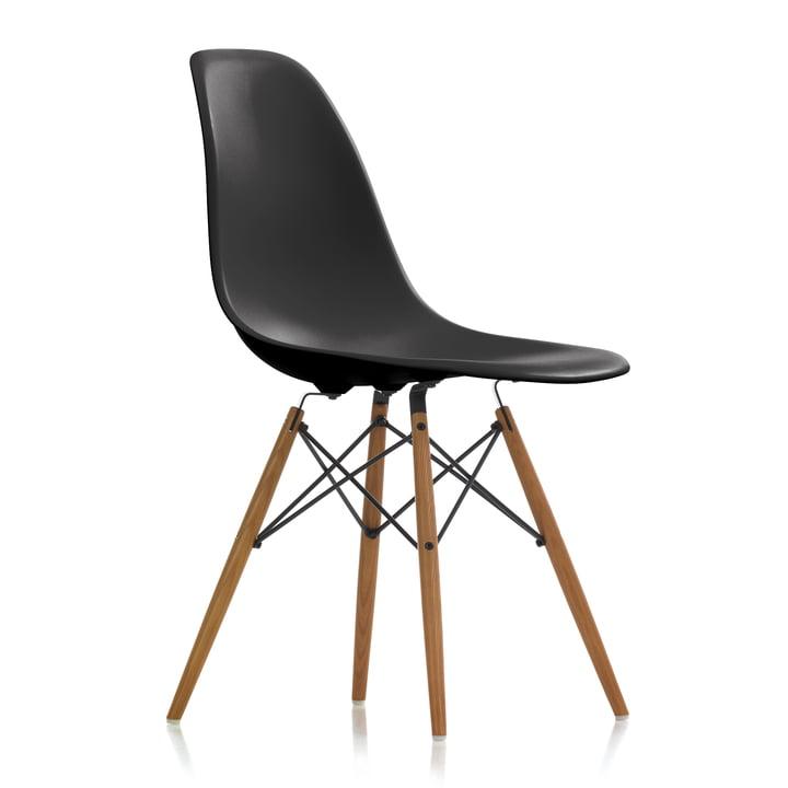 Vitra - Eames Plastic Side Chair DSW, ash honey / basic dark