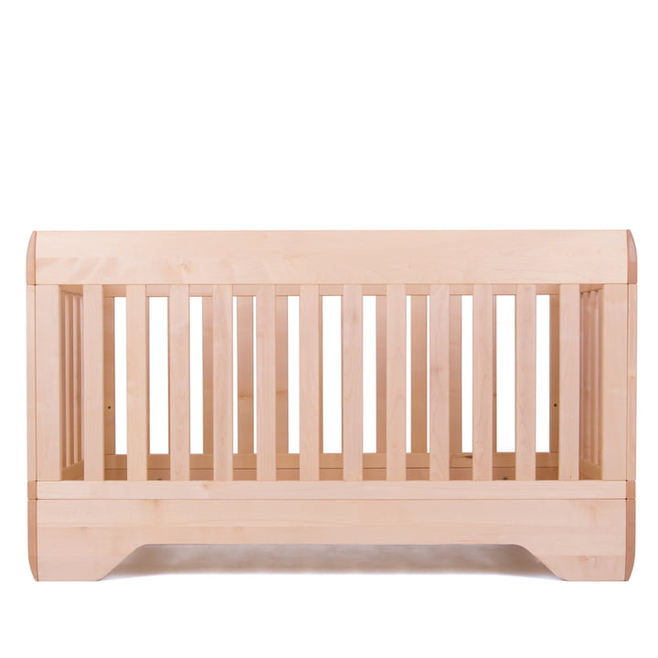 Baby crib Echo by Kalon made from maple