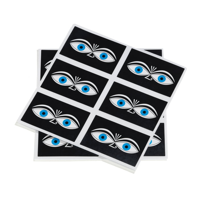 Sticker Eyes by Vitra in blue