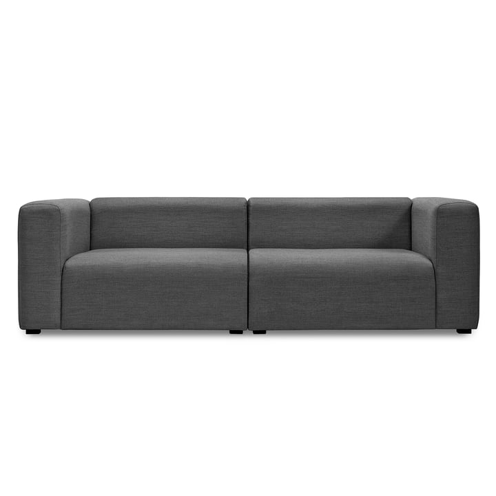 Hay - Mags Sofa without buttons, 2.5-seater, Surface 190 dark grey