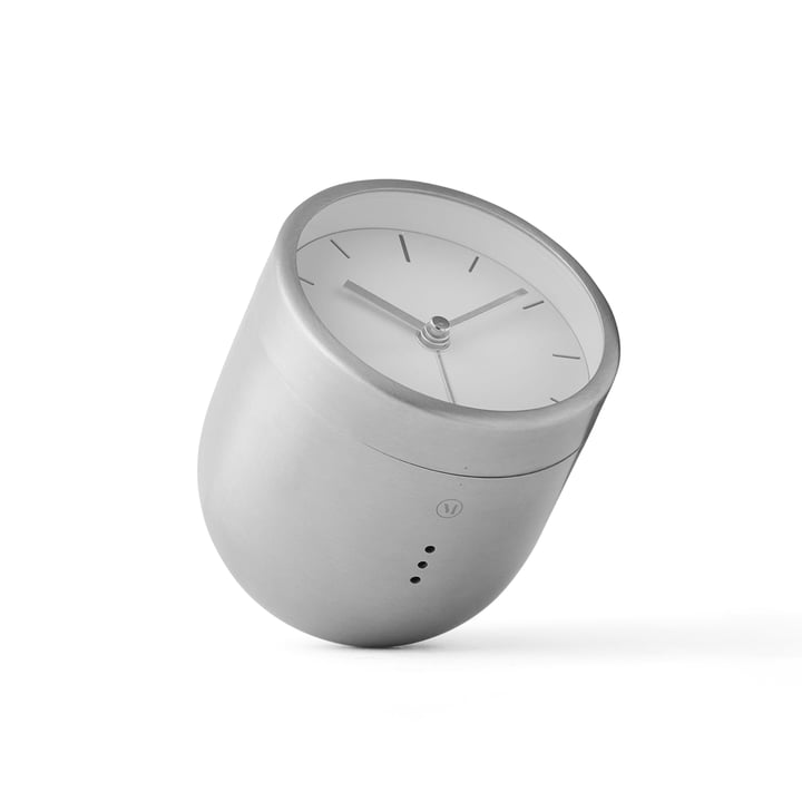 Menu - Norm Tumbler Alarm, brushed stainless steel