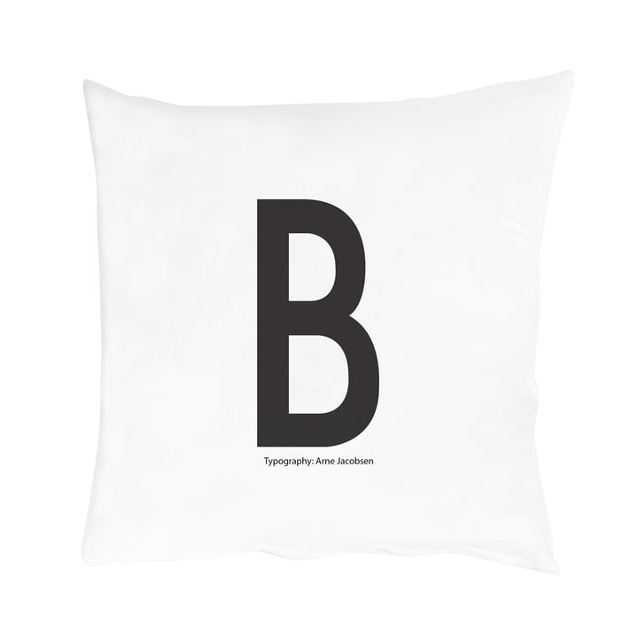 Design Letters - Cushion Cover A - Z, B