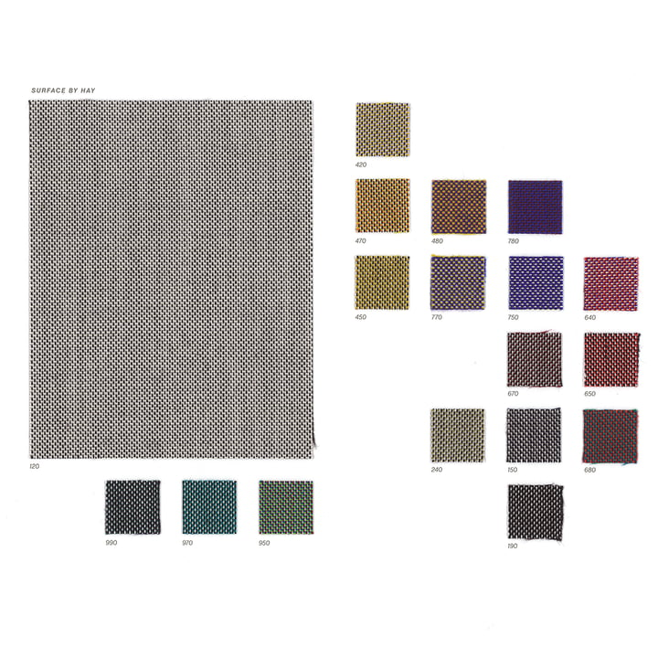 Kvadrat / Hay - Textile sample Surface