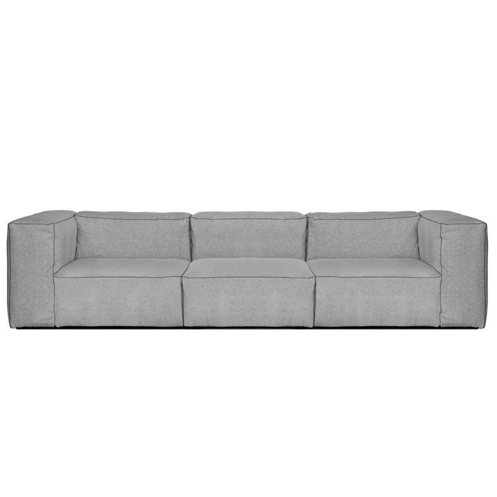 Hay - Mags Soft Sofa, 3-Seater, Hallingdal 130 light grey