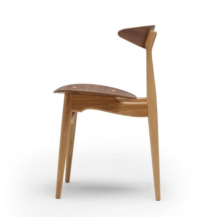 Carl Hansen - CH33T, walnut oiled / frame: oak oiled