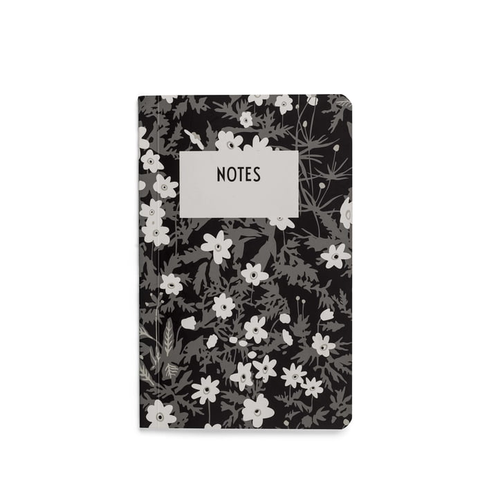 AJ Vintage Flowers Notebook in S by Design Letters