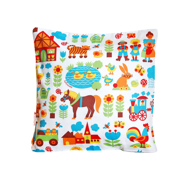 byGraziela - Pillowcase Farm 40 x 40 cm