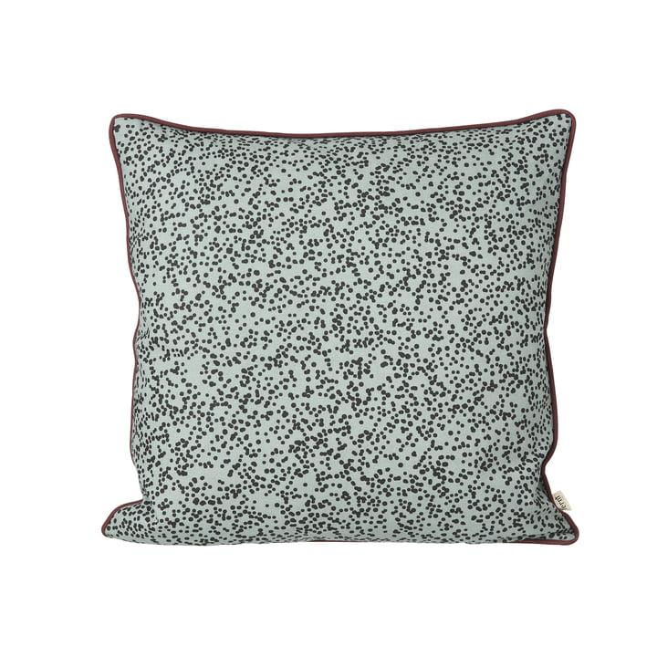 Dottery Cushion 50 x 50 cm by ferm Living in powder blue