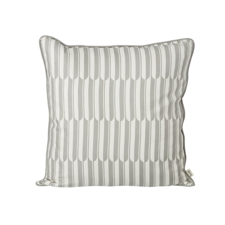 Arch cushion 50 x 50 cm by ferm Living in grey and off white