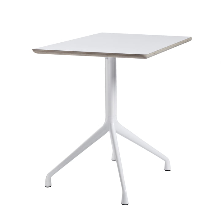 Hay - About A Table AAT 15 Bistro Table 80 x 80 cm H73 cm, white