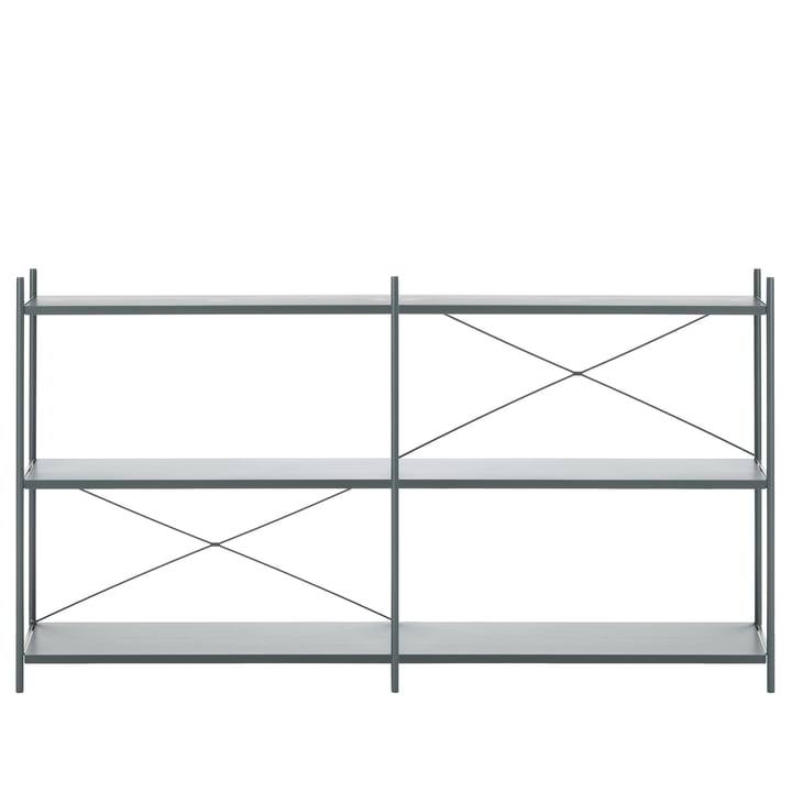 Punctual Shelving System 2x3 by ferm Living in Dark Blue