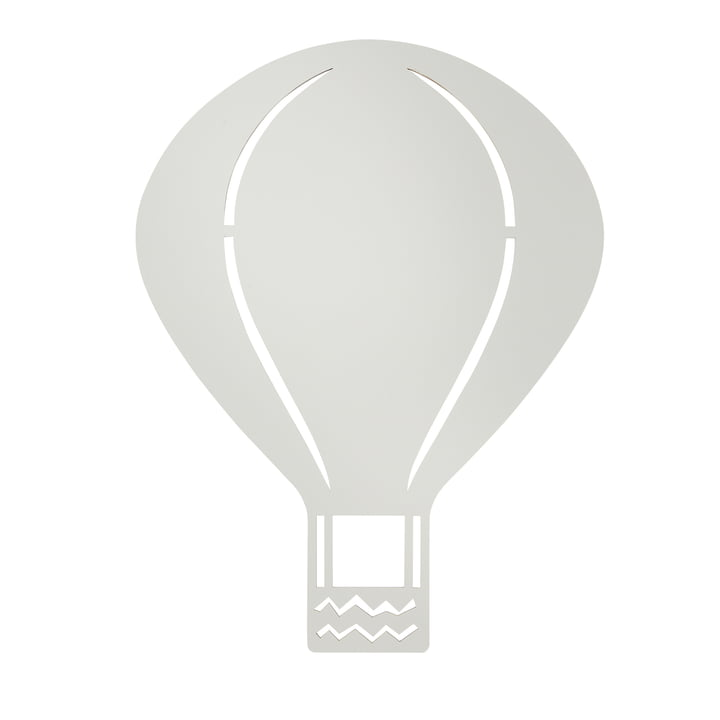 Hot-Air Balloon Lamp by ferm Living in Grey
