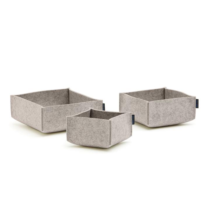 Hey Sign - Box Set 3 (set of 3), light greying
