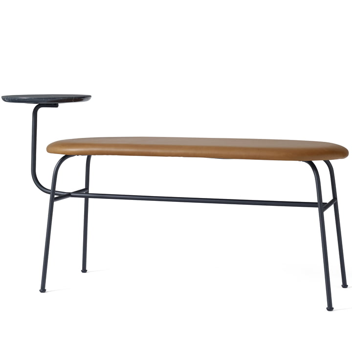 The Afteroom Bench by Menu in black - brown