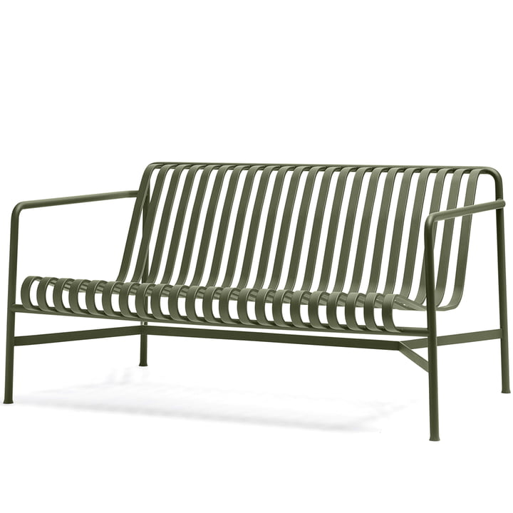 The Palissade Lounge Sofa by Hay in olive