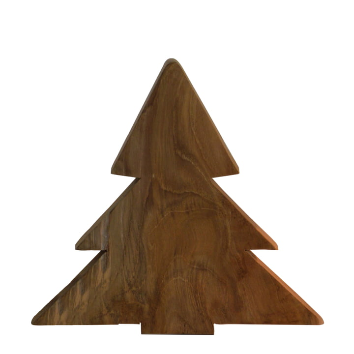 Jan Kurtz - Christmas Tree S, teak wood solid