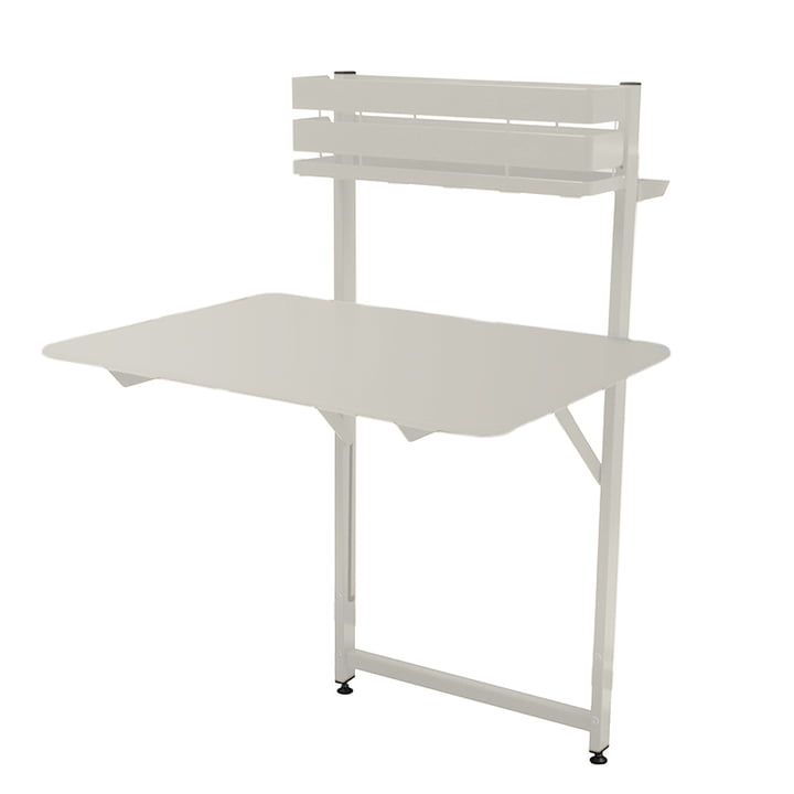 Bistro Balcony table by Fermob in cotton white