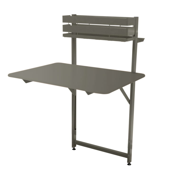 Bistro Balcony table by Fermob in thunder grey