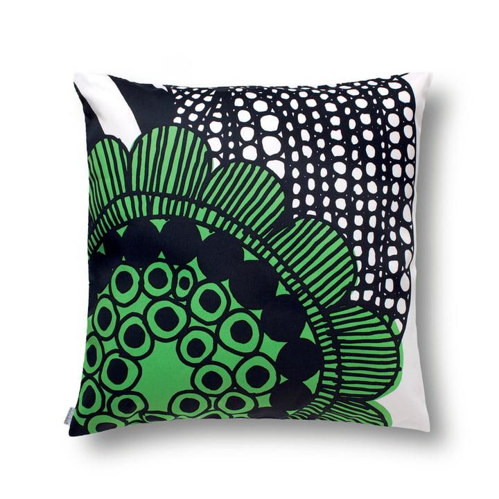 Marimekko - Siirtolapuutarha Cushion Cover 50 x 50 cm, white / green