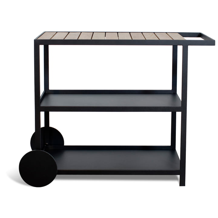 Garden Trolley by Röshults in anthracite