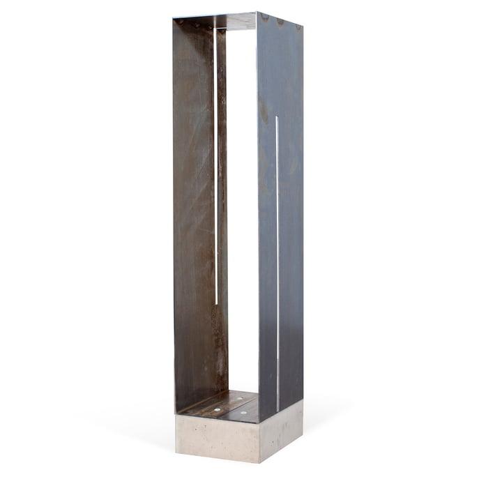 Manhattan shelf from Röshults made of untreated iron