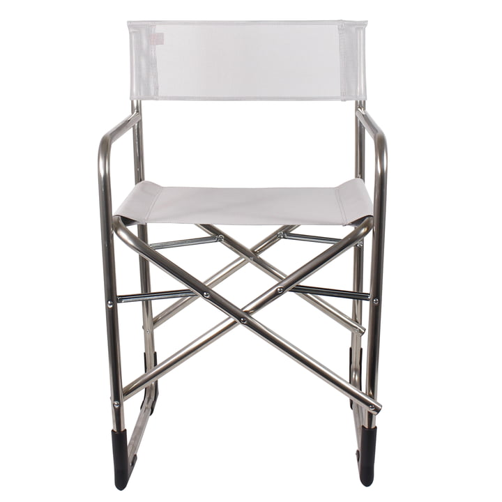 Fiam - Aluminium Director's Chair, white