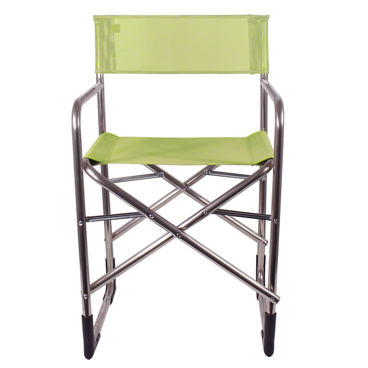 Fiam - Regie Aluminium Chair with Armrests, pistachio
