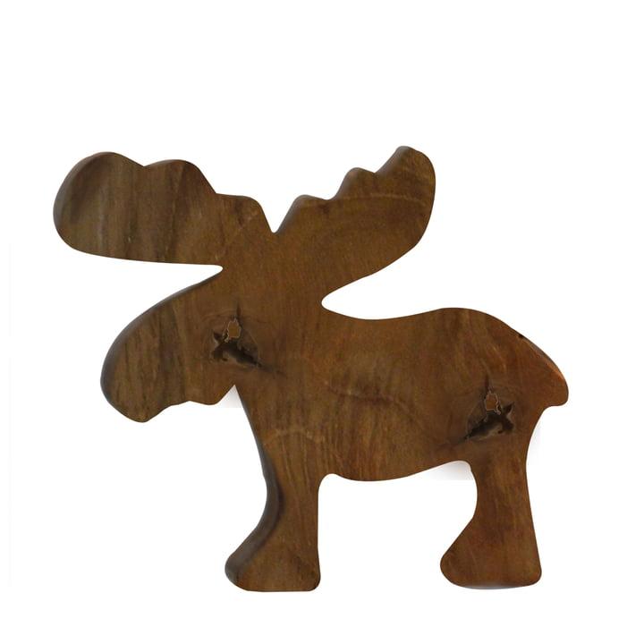 Jan Kurtz - Moose S, teak wood solid